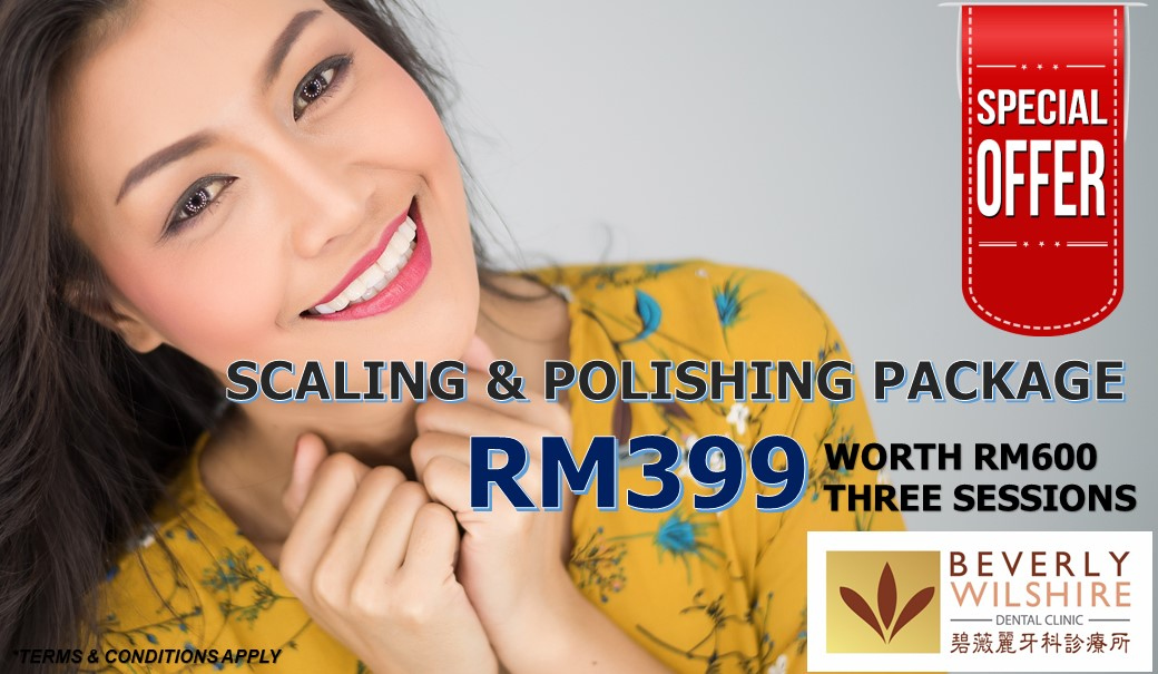 dental scaling & polishing promo