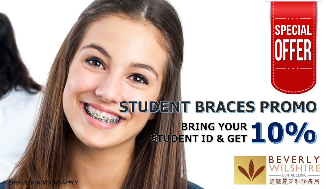 student braces promo KL